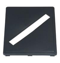 Probbax Sleuf-Inzet   Grijs   Voor Probbax Mix&Match   230x283x17(h)mm