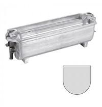 Adelmann Paté-/Terrine-Vorm   Gegoten Aluminium   U-Vorm (Rond)   Met Deksel   250x80x80(h)mm