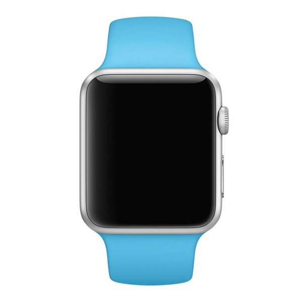 123Watches Apple watch sport band - blau
