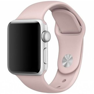 123watches Apple watch sport band - rosa san