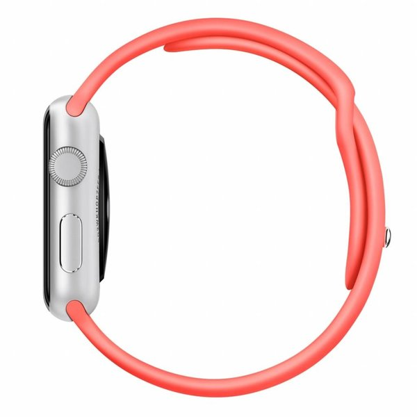 123Watches Apple watch sport band - rosa