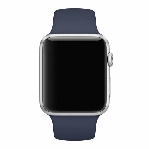 123Watches Apple watch sport band - mitternacht