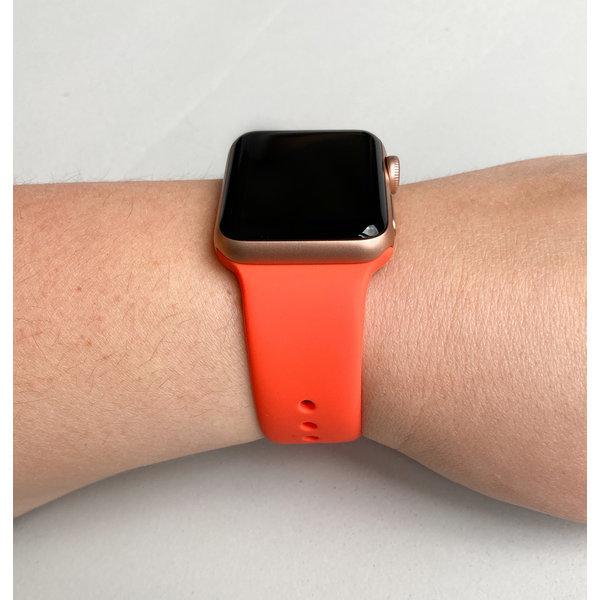 123Watches Apple watch sport band - aprikose
