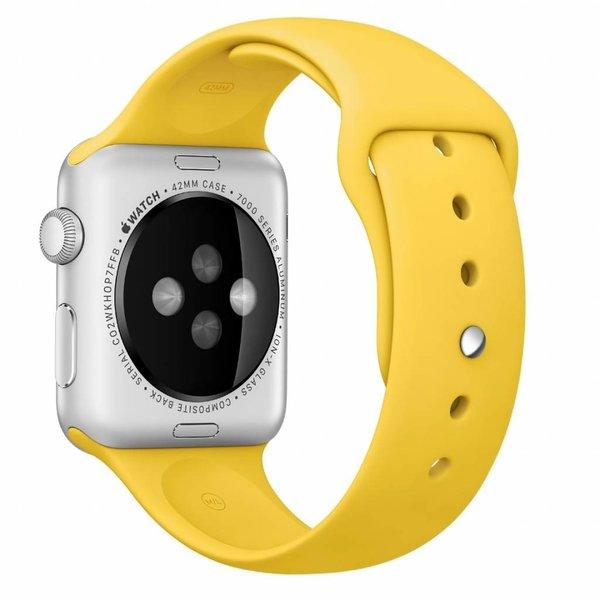 123Watches Apple watch sport band - gelb
