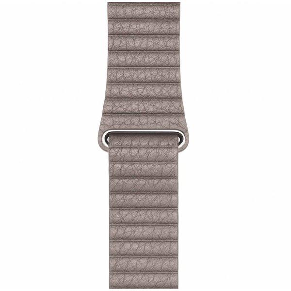 123Watches Apple Watch PU leder rippe band - khaki