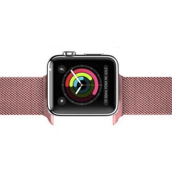 123Watches Apple watch milanese band - rose rot