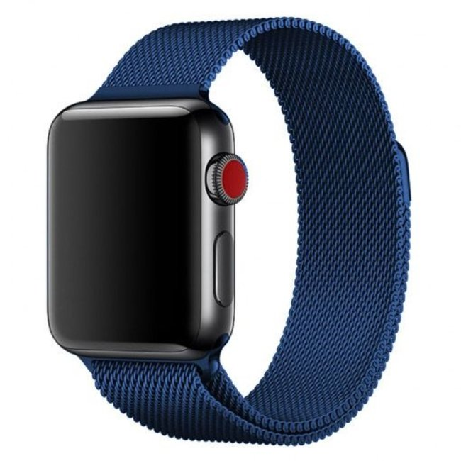 123watches Apple watch milanese band - blau
