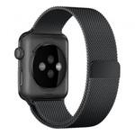 123Watches Apple watch milanese band - schwarz