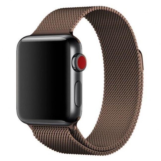 Marke 123watches Apple watch milanese band - braun