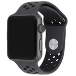 123Watches Apple watch doppelt sport band - braun schwarz