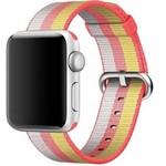 123Watches Apple Watch nylonschnallenband - rot