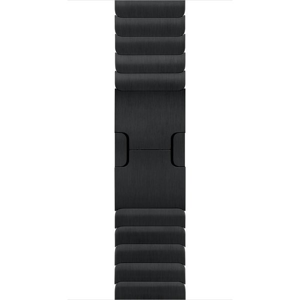 123Watches Apple Watch Stahl Gliederarmband - schwarz