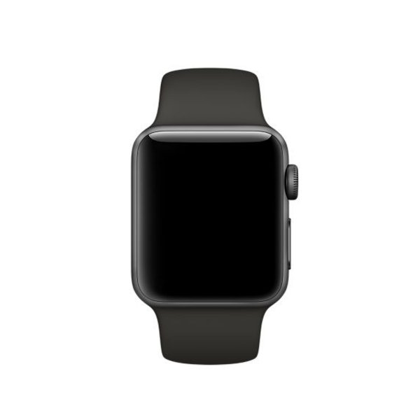 123Watches Apple watch sport band - grau