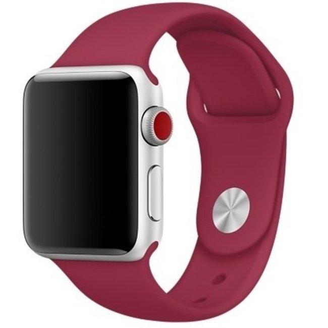 Marke 123watches Apple watch sport band - stieg rot