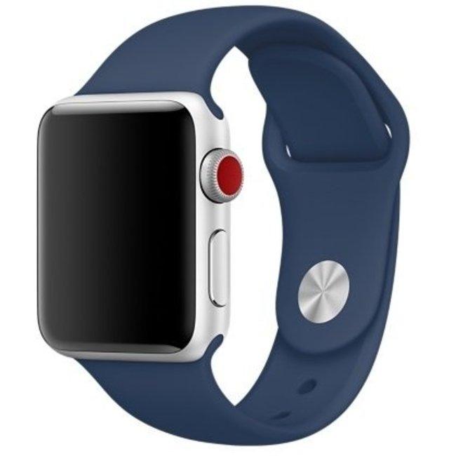 Marke 123watches Apple watch sport band - kobalt