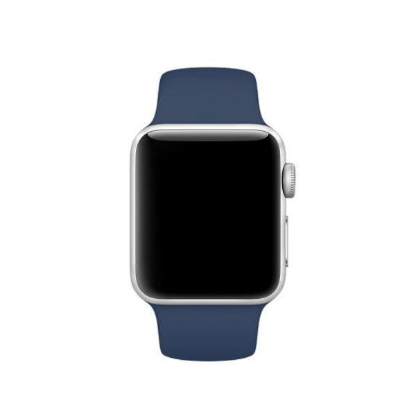 123Watches Apple watch sport band - kobalt