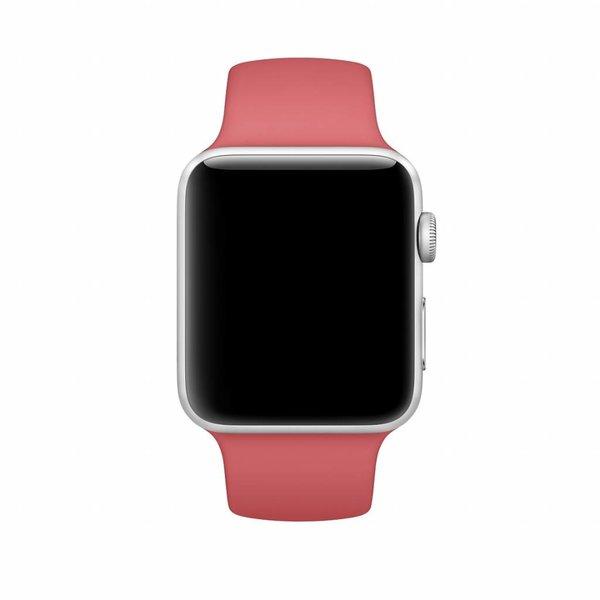 123Watches Apple watch sport band - kamelie
