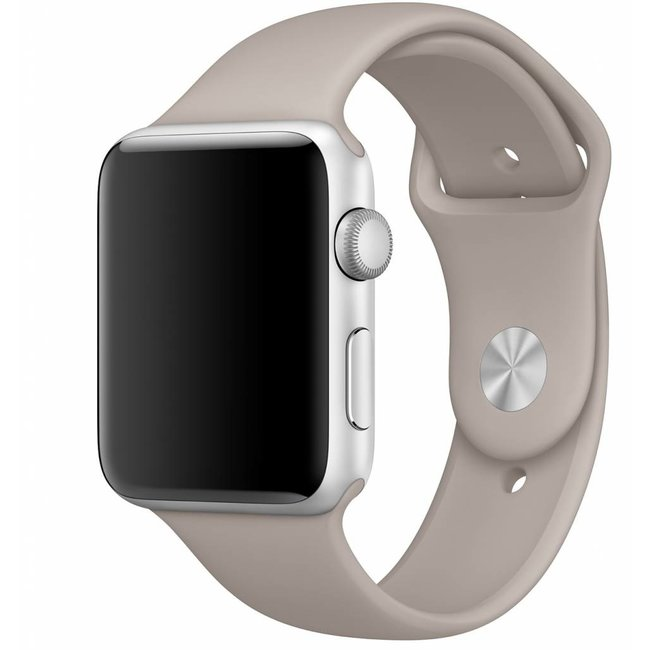 Marke 123watches Apple watch sport band - kieselstein