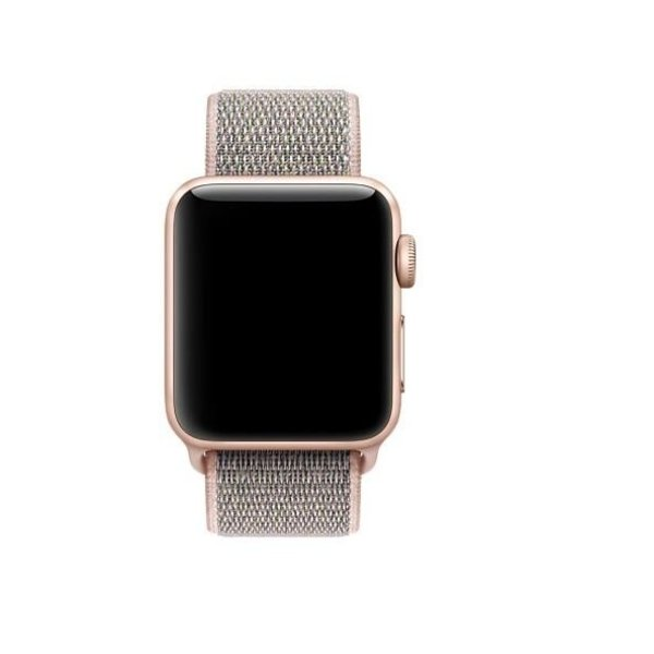 123Watches Apple watch nylon sport band - rosa sand