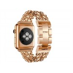 123Watches Apple watch stahl cowboy link band - rose gold