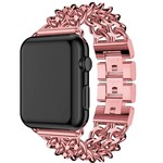 123Watches Apple watch stahl cowboy link band - rose rot