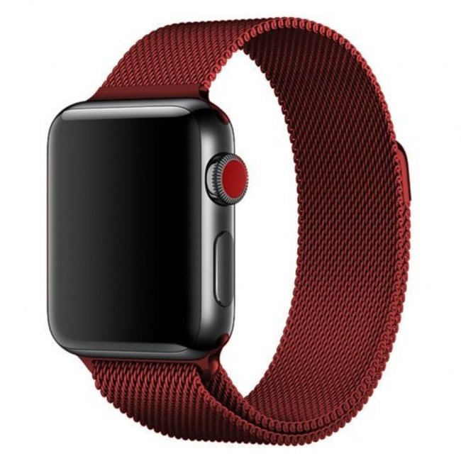 Apple watch milanese band - rot