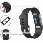 123Watches Fitbit charge 2 sport band - schwarz
