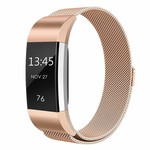 123Watches Fitbit charge 2 milanese band - rotgold