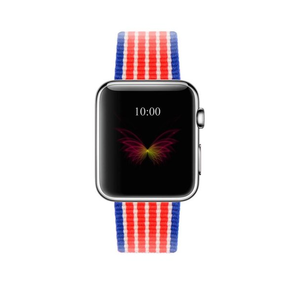 123Watches Apple Watch nylonschnallenband - amerikanisch