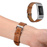 123Watches Fitbit charge 2 premium lederband - braun