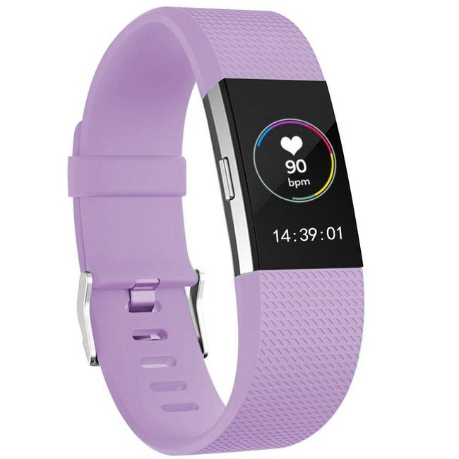Fitbit charge 2 sport band - hellviolett