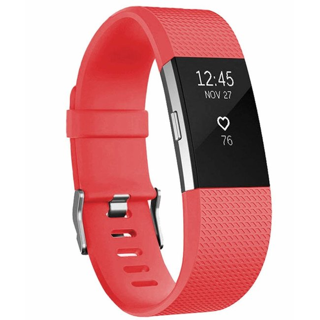 Marke 123watches Fitbit charge 2 sport band - orange