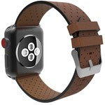 123Watches Apple watch leder belüftung band - braun