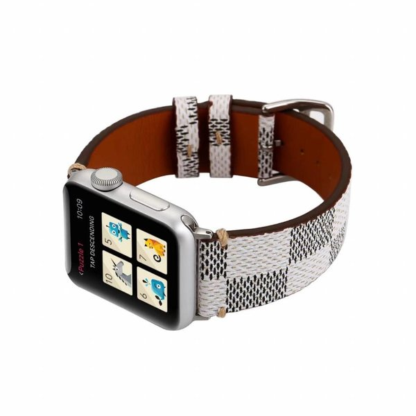 123Watches Apple Watch Lerngitterband - weiß