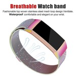 123Watches Fitbit charge 3 & 4 milanese band - bunt