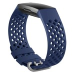 123Watches Fitbit charge 3 & 4 sport point band - dunkelblau