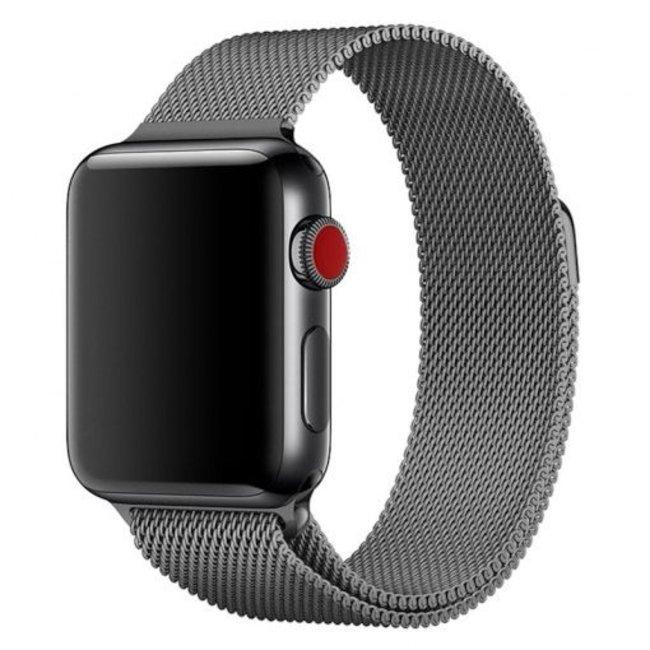 Apple watch milanese band - gun schwarz