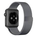 123Watches Apple watch milanese band - gun schwarz