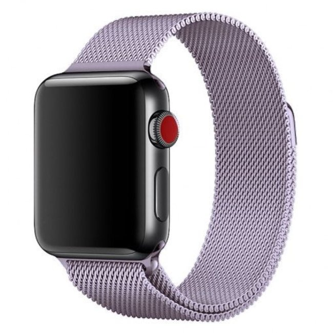 Apple watch milanese band - lavendel