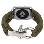 123Watches Apple watch nylon rope band - grün