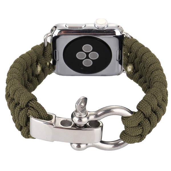 123Watches Apple watch nylon rope band - grün