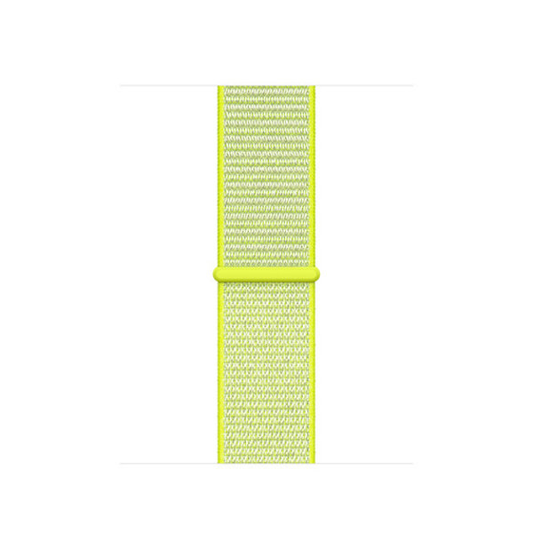 123Watches Apple watch nylon sport band - gelb