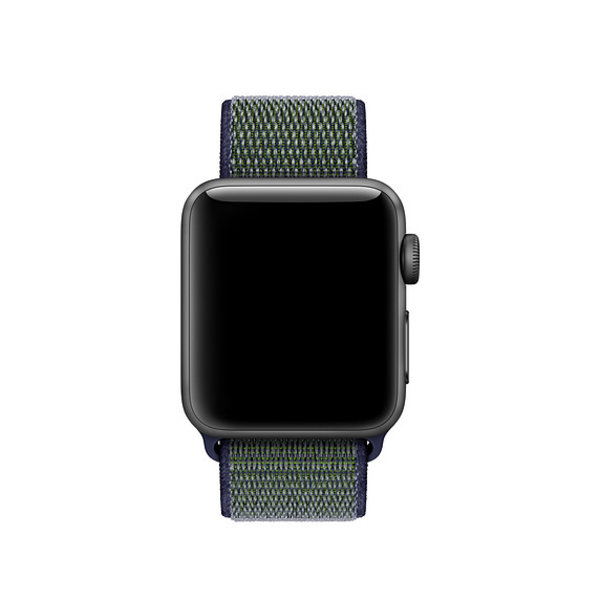 123Watches Apple watch nylon sport band  - grau
