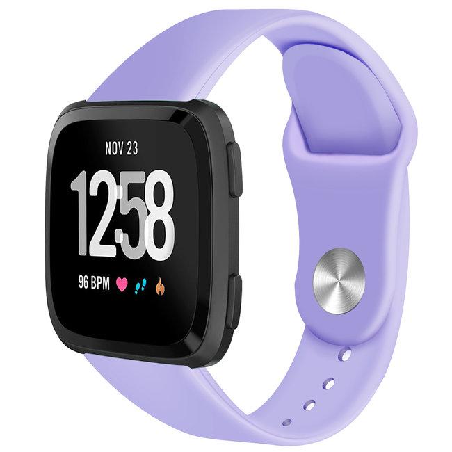 Marke 123watches Fitbit versa silicone band - hellviolett