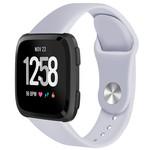 123Watches Fitbit versa silicone band - grau