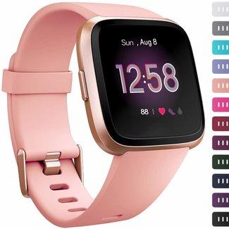 Marke 123watches Fitbit versa sport band - pink