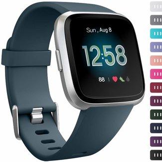Marke 123watches Fitbit versa sport band - schiefer