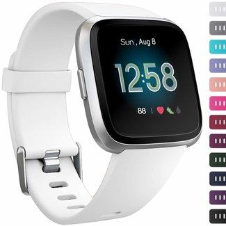 123watches Fitbit versa sport band - weiß