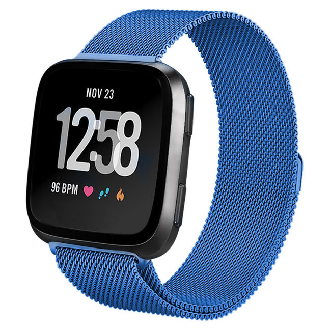 Fitbit versa milanese band - blau