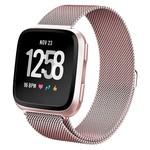 123Watches Fitbit versa milanese band - stieg rot